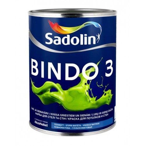 Sadolin Bindo 3 - Краска для стен и потолков