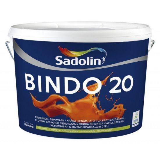 Sadolin Bindo 20 - Полуматовая краска для стен и потолков