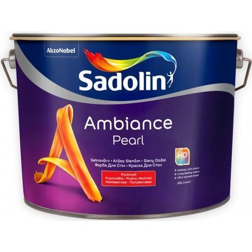 Sadolin Ambiance Pearl - Моющаяся полуматовая краска