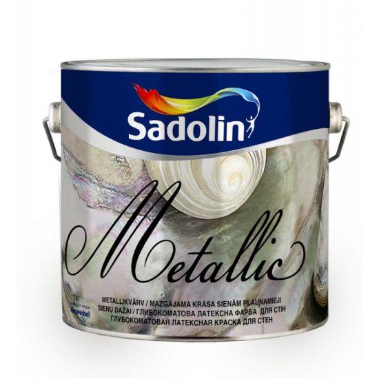 Sadolin METALLIC SILK - Краска «металлик»