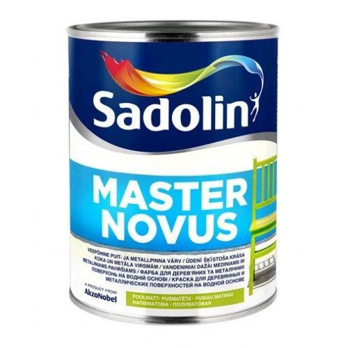 Sadolin Master Novus 15 - Полуматовая алкидно-эмульсионная краска