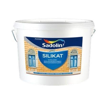 Sadolin silikat - Минеральная фасадная краска
