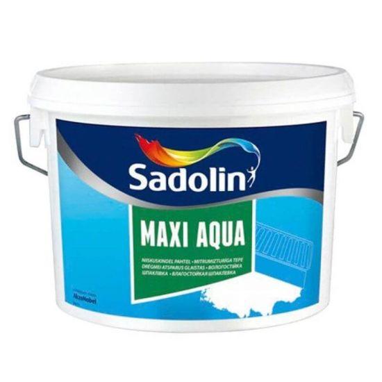 Sadolin Maxi Aqua - Влагостойкая шпаклевка
